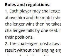 Eleon Garros Ladder 2017-18 – Proclamation